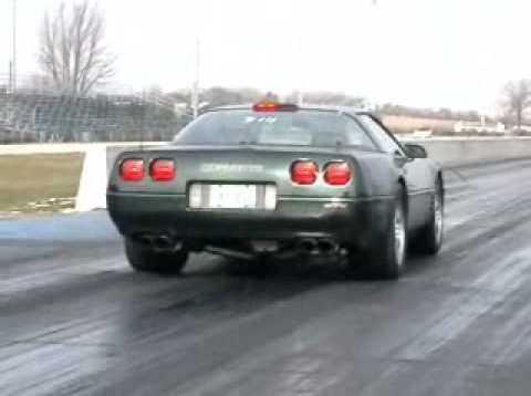 C4 ZR-1 Corvette, 11 second 129 mph King of the Hill
