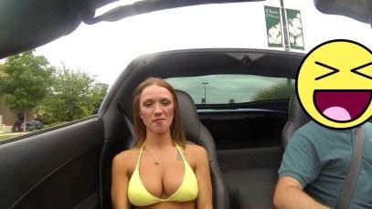 Caitlin rides in the 1000+WHP S/C C6 Corvette