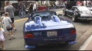 Callaway C12 Corvette Roadster In Detail