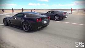 Corvette 630hp C7 Stingray vs 505hp C6 Z06