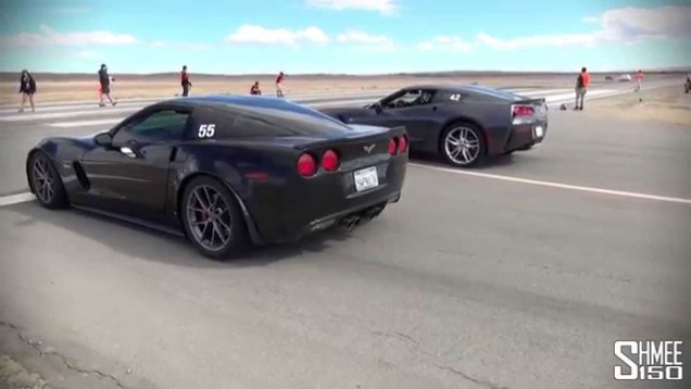 Corvette 630hp C7 Stingray vs 505hp C6 Z06