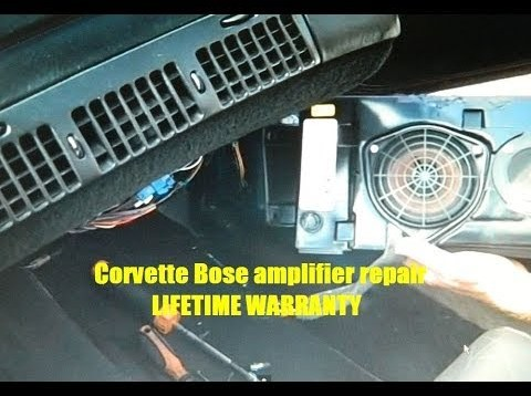 Corvette Bose Front Speaker Removal and Repair 1990-1996