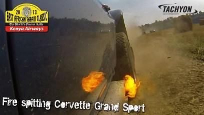 Corvette Grand Sport – East-African Rally – Fourth shakedown