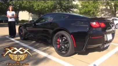 Guy Surprised Girlfriend with 2014 C7 Corvette