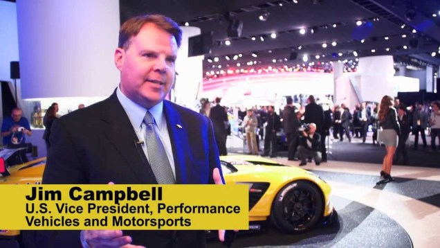 Jim Campbell on the Corvette Z06 and C7R at NAIAS
