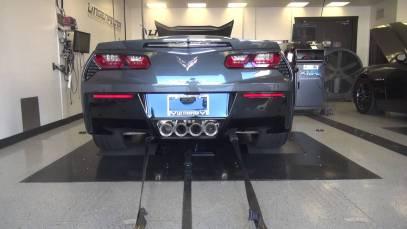 Lingenfelter Performance Engineering 2014 C7 Corvette Baseline Dyno Testing