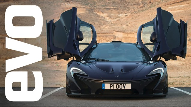 McLaren P1: technical analysis | evo DIARIES