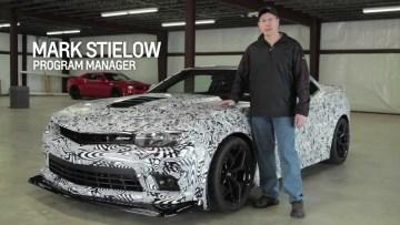 Media Blasting: Camaro Engineering — 2014 Camaro Z/28 | Chevrolet