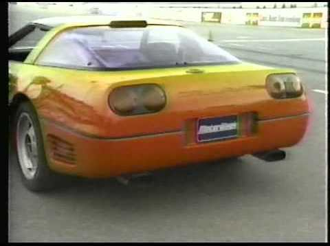 Motorweek 1990 Corvette ZR-1 and Callaway Twin Turbo Test