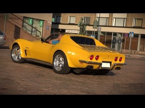 STUNNING 1973 Corvette Stingray Resto Mod – V8 sound and overview