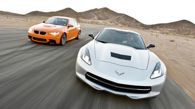 Track Tested: 2014 Chevy Corvette Stingray vs 2013 BMW M3