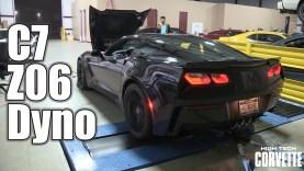 2015 C7 Z06 Corvette – Stock Dyno – 572rwhp