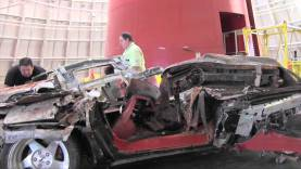 Sinkhole Victims Moved from National Corvette Museum Skydome