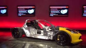 2015 Corvette Z06 technical presentation by Chief Engineer, Tadge Juechter