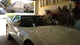 1995 c4 corvette restoration: maiden run after 4 years  – pt 4