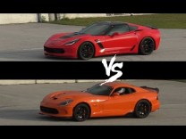 Quickest 2015 C7 Corvette Z06 Vs 2014 SRT Viper TA 1/4 Mile Drag Race