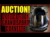 2017 Grand Sport Corvette #001 Auctions Off at Barrett-Jackson Palm Beach Auction, for ONLY $170,000