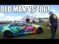 Old Man HATES My C7 Corvette Z06 at GM Nationals…