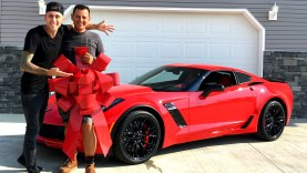 Roman Atwood Buys a Corvette Z06 for His Father's Birthday