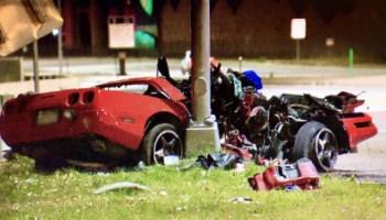 C5 Corvette Totaled In High-Speed Crash In East Tulsa, Oklahoma