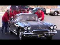 Corvette Museum Commemorates Sinkhole's Third Anniversary With 1962 Corvette Restoration