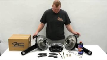 Unboxing Video: C2 Rear Disc Brake Conversion Kit