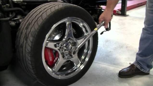 C4 Corvette Cutaway Torque Wheel