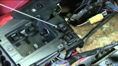 C4 Corvette Cutaway Console and modules