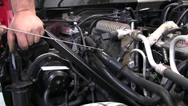 C4 Corvette Cutaway Coolant Bleed Hose