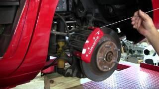 C4 Corvette Cutaway Caliper Covers