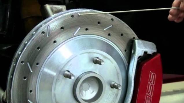 C4 Corvette Cutaway Rotors
