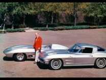 The Story Behind the 1963 Split-Window Corvette
