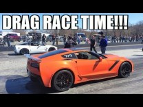 2019 Corvette ZR1 Hits The Drag Strip