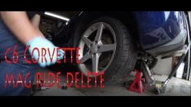 C6 Corvette Mag Ride Delete