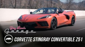 First Drive – 2020 Corvette Stingray Convertible Z51 With Jay Leno's Garage