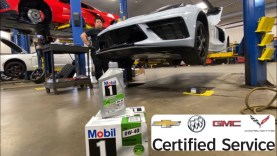 How To Do A GM Certified Oil Change on a 2020 Corvette