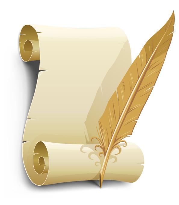 Risultati immagini per pergamena