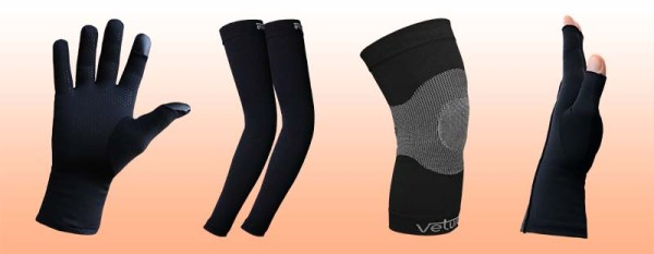 Infrared Gloves and Body Supports