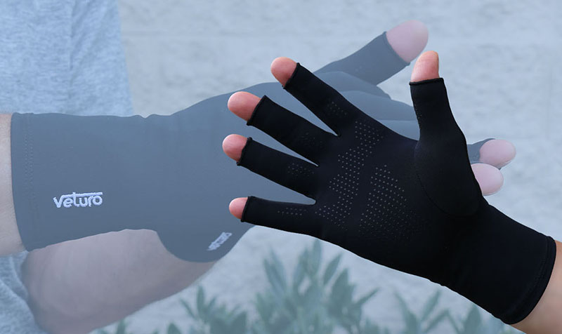 Arthritis Compression Fingerless Therapy Gloves