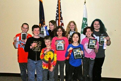 Members of the Switzerland County 4-H Entomology Judging Team which earned the state championship for the fourth straight year include