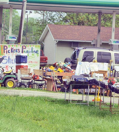 Rising Sun held its spring yard sale May 4th-6th. This yard sale has been a center of controversy which has led to a new ordinance which will limit yard sales and prevent perpetual yard sales.
