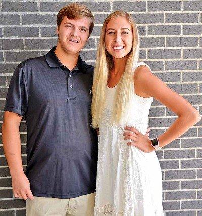 Brandon Bennett and Riley King