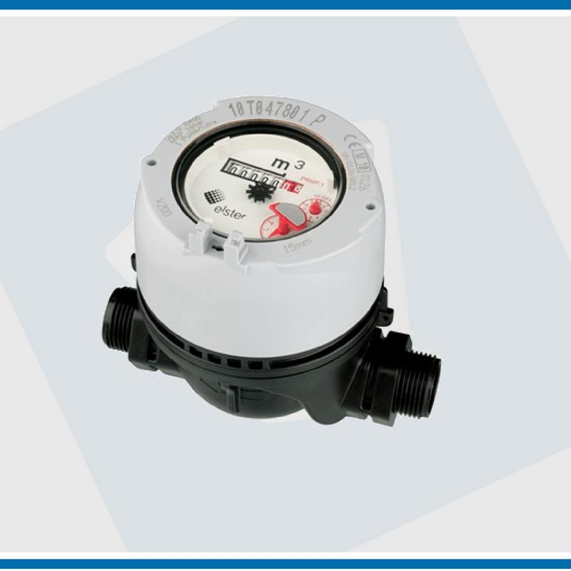 Elster watermeter V200P volledig kunststof