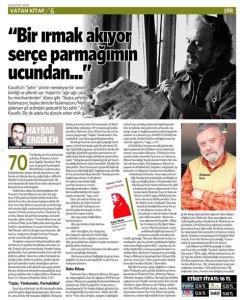 Özdemir İnce, Yannis Ritsos, Haydar Ergülen, Ve Yayınevi, Vatan Kitap.