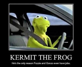 Radiohead Kermit the Frog