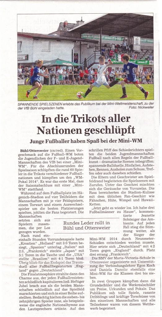 Pressebericht Badisches Tagblatt