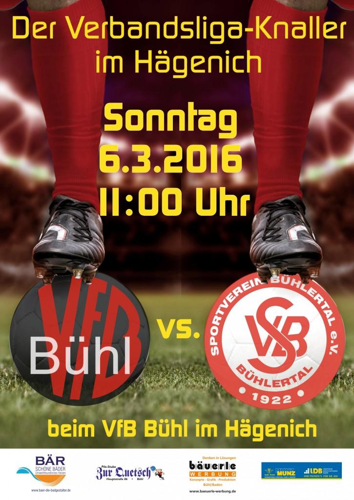 PlakatA2_VFB vt SV Bühlertal_2016