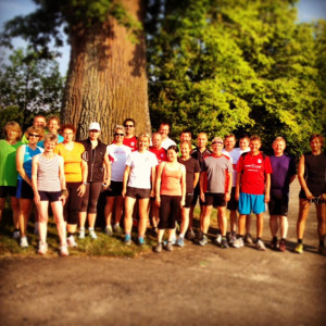 Laufgruppe Eislauf 2013