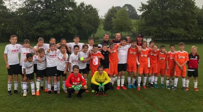 Die Mannschaften aus Weyarn und Dettenhausen