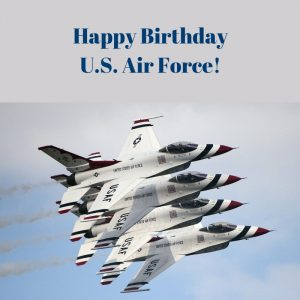 Happy Birthday Us Air Force Valley Forge Military Academy And College
